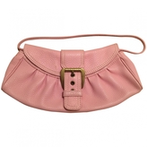 Celine Pink Leather Clutch bag