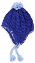 The North Face Girl's Knit Beanie - Blue