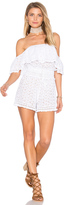 Ale By Alessandra Eyelet Romper