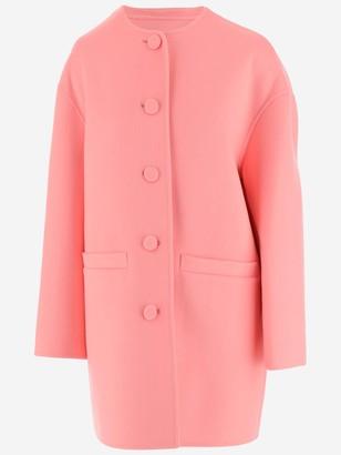 Marc Jacobs Boxy Crewneck Cardigan Coat