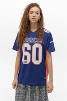 Urban Outfitters Fanatics NFL Denver Broncos Jersey T-Shirt - blue M at