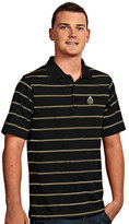 Antigua Men's Purdue Boilermakers Deluxe Striped Desert Dry Xtra-Lite Performance Polo