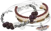 Alex and Ani Moth Bracelet Set of 5 Bracelet