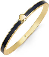 Kate Spade Signature Spade Gold-Tone Enamel Bangle Bracelet