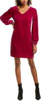 Trina Turk Eclair Silk-Blend Shift Dress