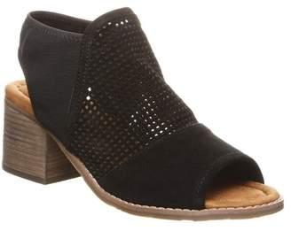 BearPaw Verona Perforated Block Heel Sandal