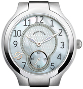 Philip Stein Teslar Stainless Steel & Mother of Pearl Watch Case, 36mm
