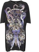 Balmain Printed long T-shirt