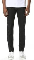 Naked & Famous Denim Super Guy - Solid Black Selvedge Jeans
