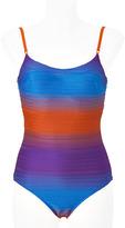 La Perla Copper/Azure Underwire Swimsuit