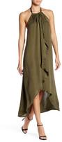 Ella Moss Ruffle Halter Hi-Lo Dress