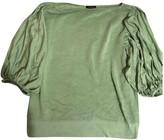 Escada Green Silk Knitwear for Women