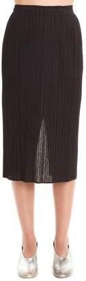 Pleats Please Issey Miyake Pleated Pencil Skirt