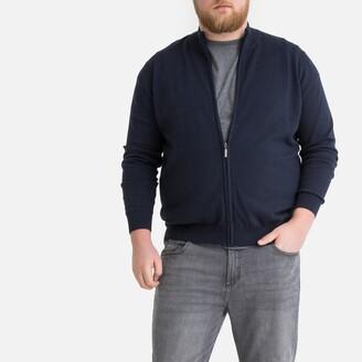 La Redoute Collections Plus Zip-Up Cardigan
