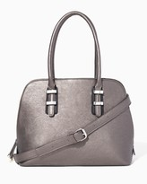 Charming charlie Station Dome Satchel