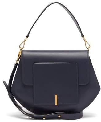 Wandler Al Leather Cross-body Bag - Womens - Navy