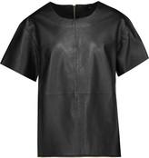 Muu Baa Muubaa Piper zip-embellished leather top
