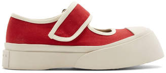 Marni Red Pablo Sneakers