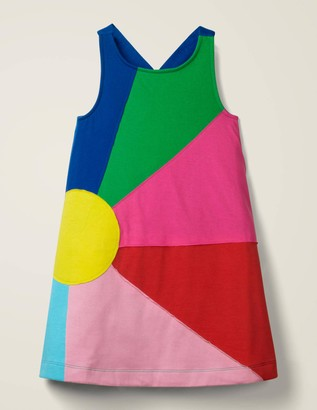 Applique Jersey Dress