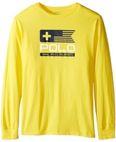 Polo Ralph Lauren Basic Jersey Graphic T-Shirt (Big Kids)