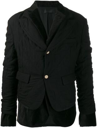 Haider Ackermann layered blazer