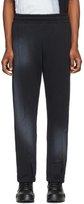 A-Cold-Wall* Black Snap Front Lounge Pants