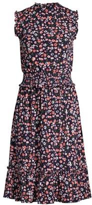 MICHAEL Michael Kors Garden Patch Smocked Dress