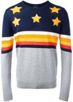 Just Cavalli star jumper - men - Cotton/Linen/Flax - M