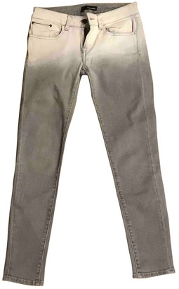 The Kooples Grey Cotton Jeans for Women