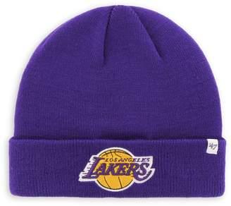 '47 Los Angeles Lakers NBA Raised Cuff Knit Beanie