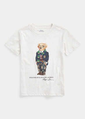 Ralph Lauren Preppy Bear Cotton Jersey Tee