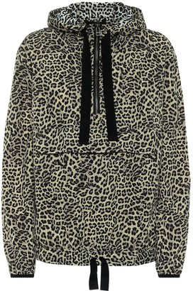 The Upside Leo leopard-print raincoat