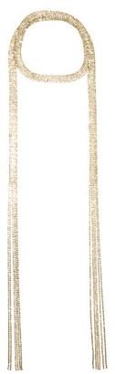 Rosantica Madeline Crystal-embellished Wrap Necklace - Gold Multi