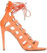Aquazzura 'Amazon' sandals - women - Python Skin - 38.5