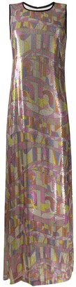 Emilio Pucci Sequin-Embellished Long Dress