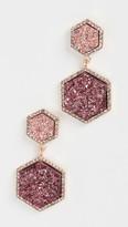 BaubleBar Ashaya Druzy Drop Earrings
