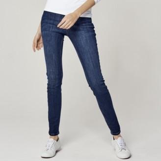 The White Company Symons Skinny Jeans - 32 Length , Indigo, 6