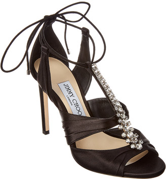 Jimmy Choo Kenny 100 Satin Sandal