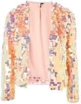 Topshop Circle Sequin Jacket