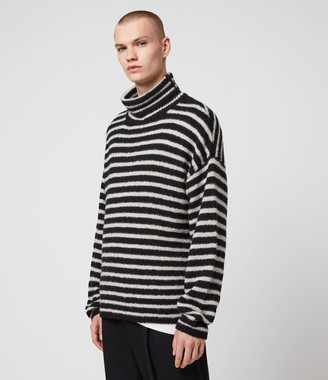 AllSaints Alderney Funnel Neck Sweater