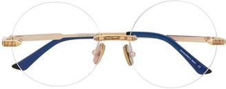 Anna Karin Karlsson Crystal Nest rimless optical glasses