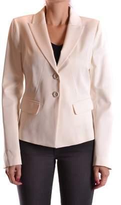 Pinko Women's White Viscose Blazer
