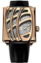 Rosegold RSW Women's 6020.PP.L1.5.00 Wonderland Rose-Gold Black Patent Leather Watch
