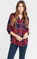 MUMU Boyfriend Flannel ~ Lumberjack Plaid
