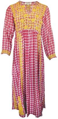 Muzungu Sisters Multicolour Silk Dresses