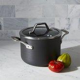 Crate & Barrel Calphalon Signature Non-Stick 4-qt. Soup Pot with Lid