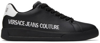 Versace Black Brad Sneakers