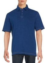 Saks Fifth Avenue Contrast Stitched Polo Shirt