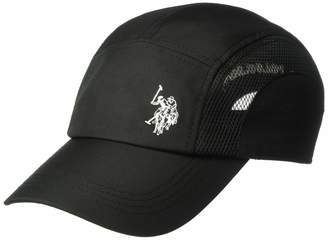 U.S. Polo Assn. Men's Embroidered Active Nylon Mesh Adjustable Cap
