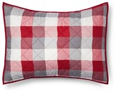 Threshold Red Plaid Yarn Dye Pillow Sham (Standard
